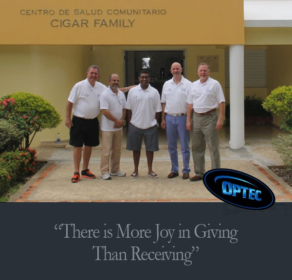OPTEC USA Joins a Good Cause